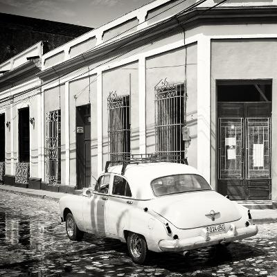 Cuba Fuerte Collection SQ BW - Cuban Street Scene-Philippe Hugonnard-Photographic Print