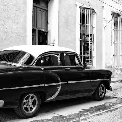 Cuba Fuerte Collection SQ BW - Cuban Taxi II-Philippe Hugonnard-Photographic Print