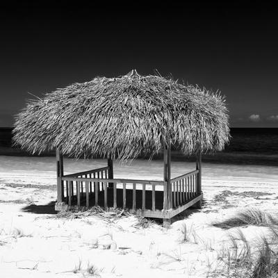 Cuba Fuerte Collection SQ BW - Paradise Beach-Philippe Hugonnard-Photographic Print