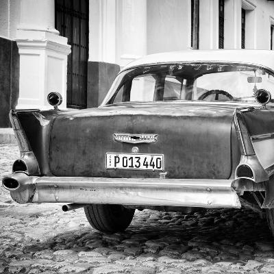Cuba Fuerte Collection SQ BW - Vintage American Car-Philippe Hugonnard-Photographic Print
