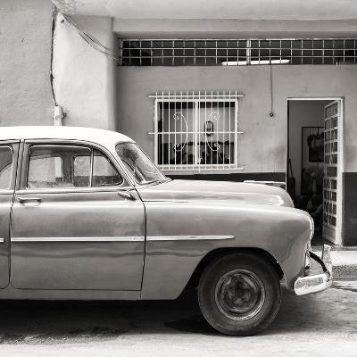 Cuba Fuerte Collection SQ BW - Vintage Car of Havana-Philippe Hugonnard-Photographic Print