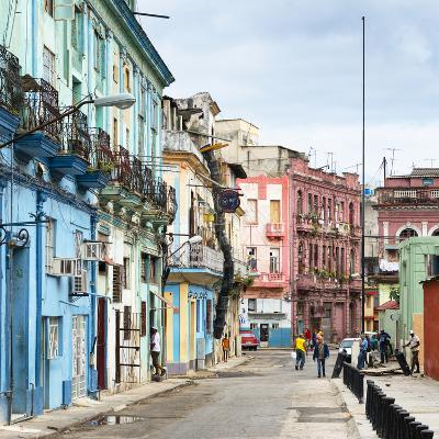 Cuba Fuerte Collection SQ - Colorful Architecture of Havana-Philippe Hugonnard-Photographic Print