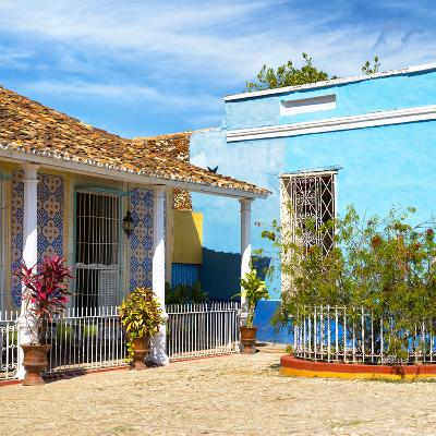 Cuba Fuerte Collection SQ - Colorful Architecture Trinidad III-Philippe Hugonnard-Photographic Print