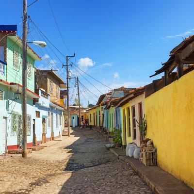 Cuba Fuerte Collection SQ - Colorful Architecture Trinidad-Philippe Hugonnard-Photographic Print