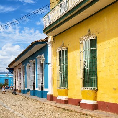 Cuba Fuerte Collection SQ - Colorful Facades in Trinidad-Philippe Hugonnard-Photographic Print