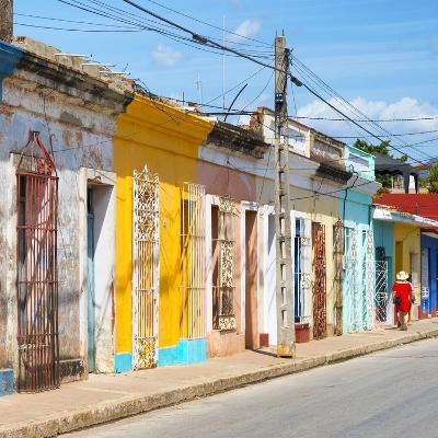 Cuba Fuerte Collection SQ - Colorful Trinidad II-Philippe Hugonnard-Photographic Print