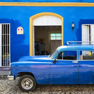 Cuba Fuerte Collection SQ - Cuban Blue-Philippe Hugonnard-Photographic Print