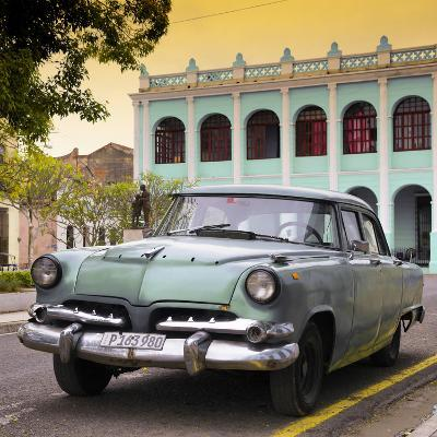 Cuba Fuerte Collection SQ - Cuban Retro Car at Sunset II-Philippe Hugonnard-Photographic Print