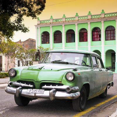 Cuba Fuerte Collection SQ - Cuban Retro Car at Sunset-Philippe Hugonnard-Photographic Print