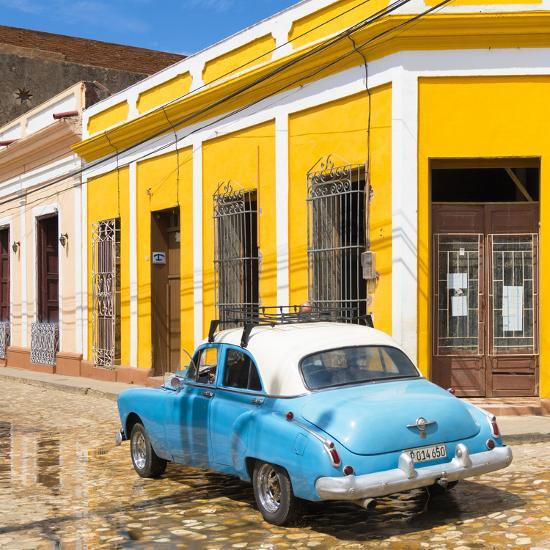 Cuba Fuerte Collection SQ - Cuban Street Scene-Philippe Hugonnard-Photographic Print
