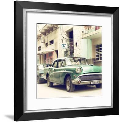 Cuba Fuerte Collection SQ - Cuban Taxi to Havana-Philippe Hugonnard-Framed Photographic Print