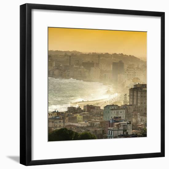 Cuba Fuerte Collection SQ - Havana Sunrise-Philippe Hugonnard-Framed Photographic Print