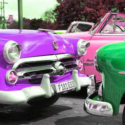 Cuba Fuerte Collection SQ - Havana Vintage Classic Cars-Philippe Hugonnard-Photographic Print