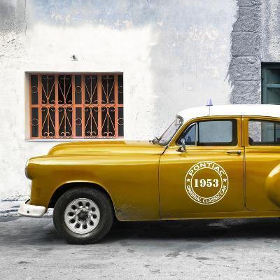 Cuba Fuerte Collection SQ - Honey Pontiac 1953 Original Classic Car-Philippe Hugonnard-Photographic Print
