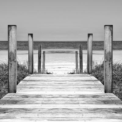 Cuba Fuerte Collection SQ II - Boardwalk on the Beach-Philippe Hugonnard-Photographic Print