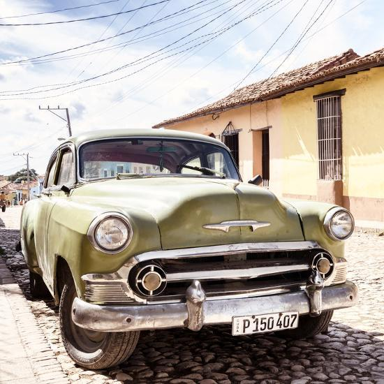 Cuba Fuerte Collection SQ - Old Cuban Chevy II-Philippe Hugonnard-Photographic Print
