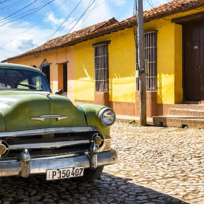 Cuba Fuerte Collection SQ - Old Cuban Chevy III-Philippe Hugonnard-Photographic Print