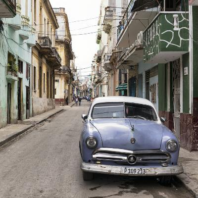Cuba Fuerte Collection SQ - Street Scene in Havana-Philippe Hugonnard-Photographic Print