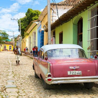 Cuba Fuerte Collection SQ - Street Scene Trinidad-Philippe Hugonnard-Photographic Print