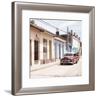 Cuba Fuerte Collection SQ - Urban Scene in Trinidad II-Philippe Hugonnard-Framed Photographic Print