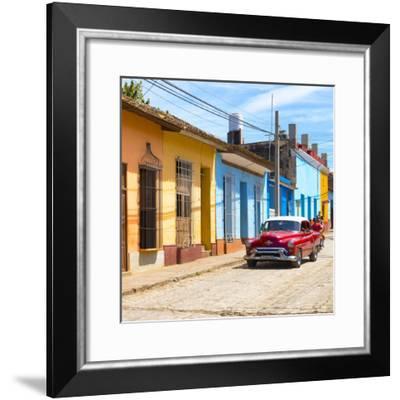 Cuba Fuerte Collection SQ - Urban Scene in Trinidad-Philippe Hugonnard-Framed Photographic Print