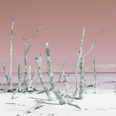Cuba Fuerte Collection SQ - Wild Ocean - Pastel Red-Philippe Hugonnard-Photographic Print