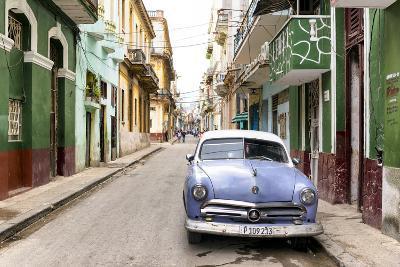 Cuba Fuerte Collection - Street Scene in Havana-Philippe Hugonnard-Photographic Print