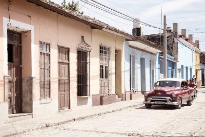 Cuba Fuerte Collection - Street Scene in Trinidad IV-Philippe Hugonnard-Photographic Print