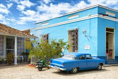 Cuba Fuerte Collection - Street Scene in Trinidad-Philippe Hugonnard-Photographic Print