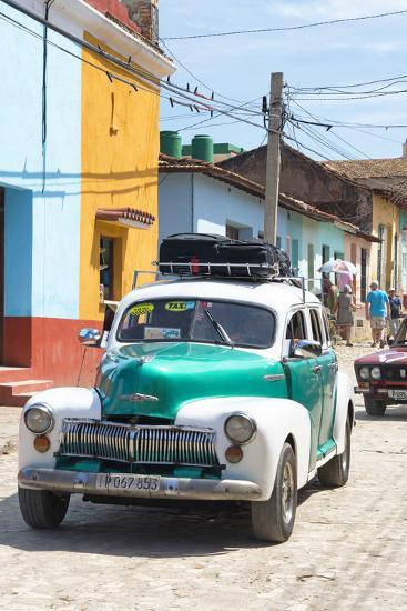 Cuba Fuerte Collection - Taxi in Trinidad-Philippe Hugonnard-Photographic Print