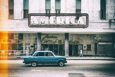 Cuba Fuerte Collection - Teatro America in Havana II-Philippe Hugonnard-Photographic Print