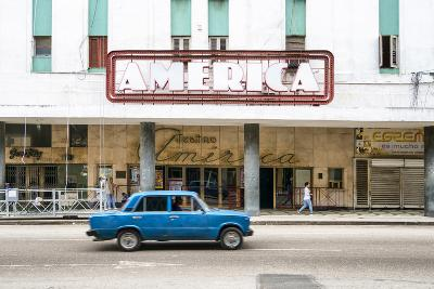 Cuba Fuerte Collection - Teatro America in Havana-Philippe Hugonnard-Photographic Print