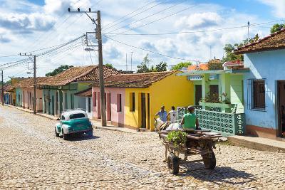 Cuba Fuerte Collection - Trinidad Colorful Street Scene VI-Philippe Hugonnard-Photographic Print