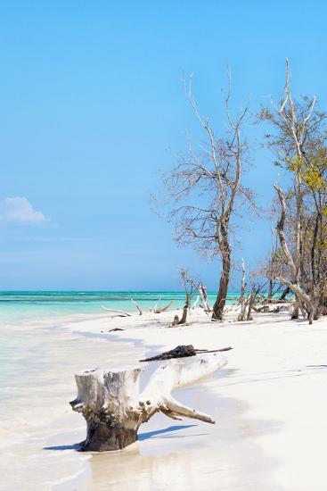 Cuba Fuerte Collection - White Sand Beach II-Philippe Hugonnard-Photographic Print
