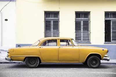 Cuba Fuerte Collection - Yellow Car-Philippe Hugonnard-Photographic Print