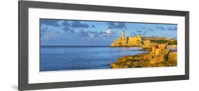 Cuba, Havana, Castillo del Morro (Castillo de los Tres Reyes del Morro)-Alan Copson-Framed Photographic Print