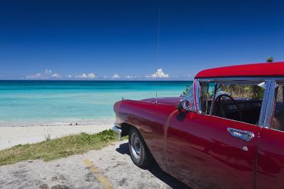 Cuba, Matanzas Province, Varadero, Varadero Beach-Walter Bibikow-Photographic Print