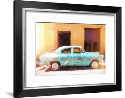 Cuba Painting - Cuba's Classic Car-Philippe Hugonnard-Framed Art Print
