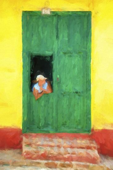 Cuba Painting - The Day I Met You-Philippe Hugonnard-Art Print