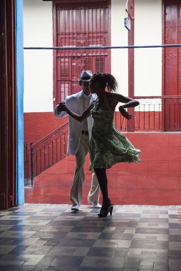 Cuba, Santiago De Cuba Province, Santiago De Cuba, Historical Center, Calle Heredia, Artex Bar-Jane Sweeney-Photographic Print