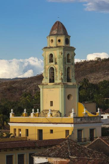 Cuba, Trinidad. a Church in the Historic Center of Town-Brenda Tharp-Photographic Print