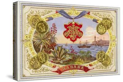 Cuban Cigar Box Label