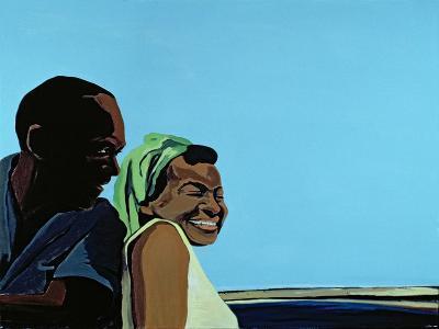 Cuban Portrait No.10, 1996-Marjorie Weiss-Giclee Print