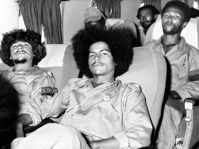 Cuban Rebel Soldiers, Leaving Santiago De Cuba for Matanzas--Photo