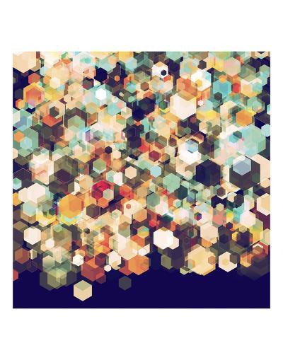 Cuben Cubic Spine-Simon C^ Page-Art Print