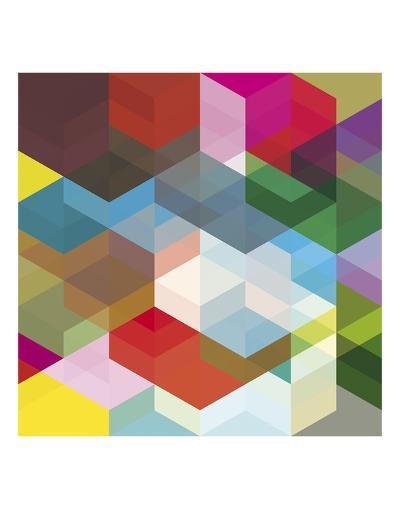 Cuben Shambles-Simon C^ Page-Art Print