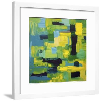 Cubic Abstract-Hilary Winfield-Framed Giclee Print