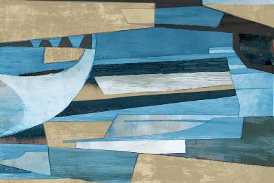 Cubist Shapes-Anna Polanski-Art Print