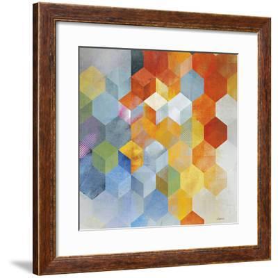 Cubitz I-Noah Li-Leger-Framed Giclee Print
