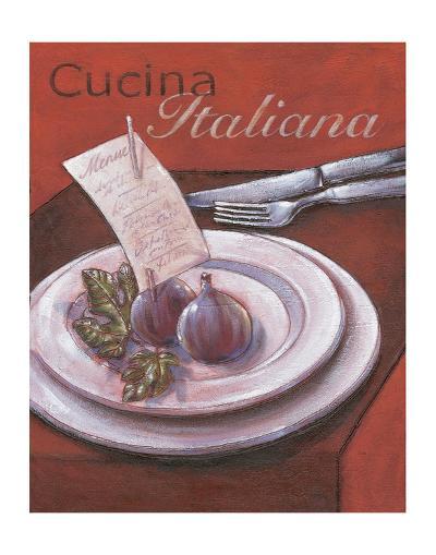 Cucina italiana-Bjoern Baar-Premium Giclee Print